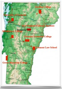 Summer Study Tour Map